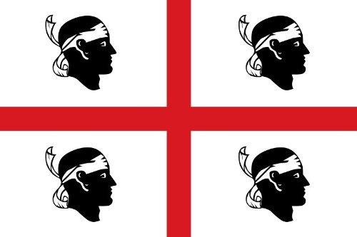Italië Italiaanse vlag Sardinië