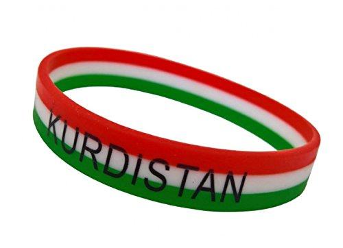 KURDISTAN - Armband Silikon