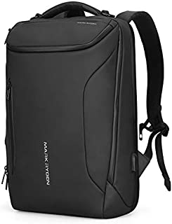 Water-Proof Business Laptop Backpack Markryden Large-Capacity Modern Rucksack Bags for Men with USB Charging Port for Scho...