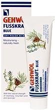 Gehwol Fusskraft Blue Foot Cream - Rich Emollient Cream for Dry Rough Skin --- 75ml