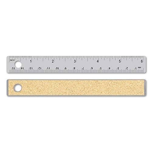 Alumicolor Flexible Stainless Steel ruler, measuring tool, 6IN