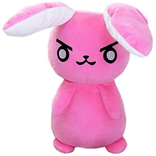 Emishin 1 Pieza 50 cm Mire el Juego Pioneer Juego Anime Pioneer DVA Rabbit Peluches de Peluche de Peluche Suave Muñeca de Animales Papel de Almohada Playing Props Los Regalos de Juguetes para niños