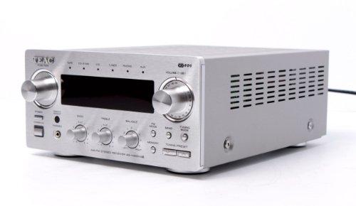 Teac AG-H 300 MK 3 Stereo-Receiver (UKW-/MW-Tuner, Lautstärkeregler) silber