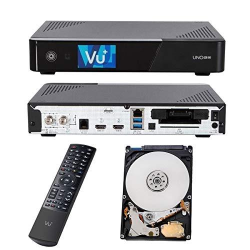 Vu+ UNO 4K SE 1X DVB-C FBC Twin Tuner PVR Ready Kabel Linux Receiver UHD 2160P + 2TB Speicher