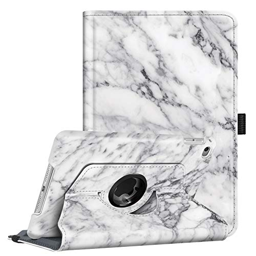 Fintie Rotating Case for iPad Mini 4-360 Degree Rotating Stand Case with Smart Cover Auto Sleep/Wake Feature for iPad Mini 4 (2015 Release), Marble