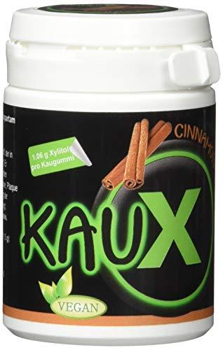 Kaux Zahnpflegekaugummi Cinnamon/zimt mit Xylitol 40 stk