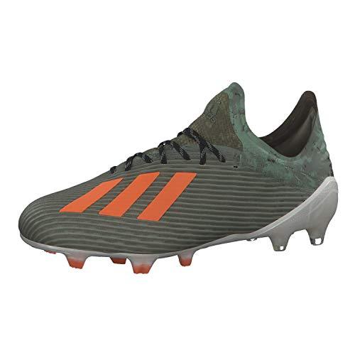adidas Herren X 19.1 Fg Fußballschuhe, Verleg/Narsol/Blatiz, 44 2/3 EU
