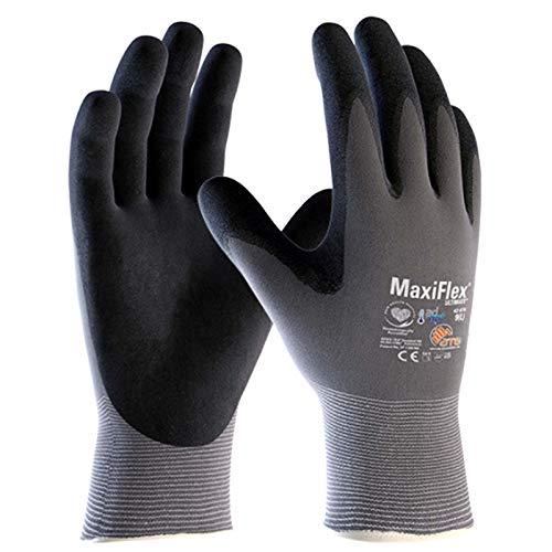 ATG MaxiFlex Ultimate 34-874 - Guantes de trabajo (espuma de nitrilo, talla L/9)