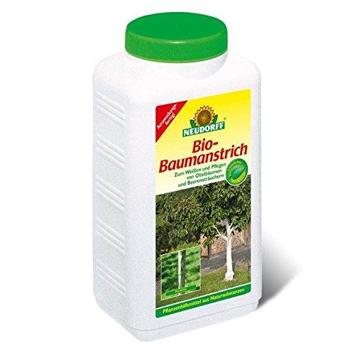 Bio Baumanstrich aus Gesteinsmehl zum Weißen und Pflegen von Obstbäumen 2 Liter Flasche 5,98 EUR/1 Liter