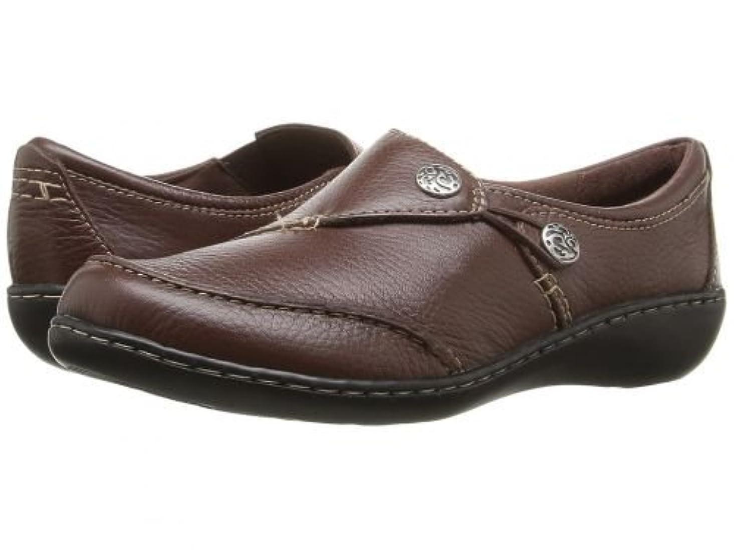 メンタル予備純粋なClarks(クラークス) レディース 女性用 シューズ 靴 ローファー ボートシューズ Ashland Lane Q - Redwood 10 A - Narrow [並行輸入品]