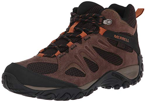 Merrell Men's Yokota 2 MID Waterproof Hiking Boot, Bracken, 10 M US