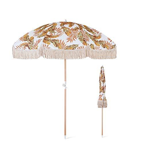 outdoor product Parasol Extérieur de Gland de Parasol de 5,9 Pieds, Parasol Portable Parasol de Table de Jardin Inclinable Protection UV 50+,Parapluies de Marché pour Terrasse/Piscine/Pelouse