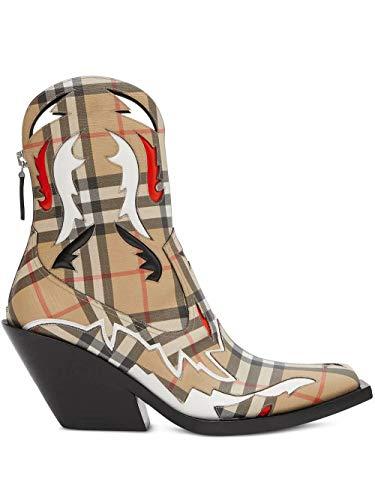 BURBERRY Luxury Fashion Damen 8025345 Beige Polyurethan Stiefel | Frühling Sommer 20