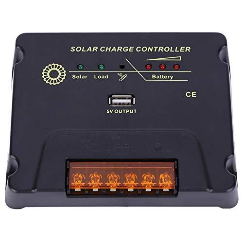 Controlador de batería, 12V / 24V 20A MPPT Controlador de carga, Controlador solar MPPT Tablero de control CPY para casa RV Camping Gel Sellado Inundado