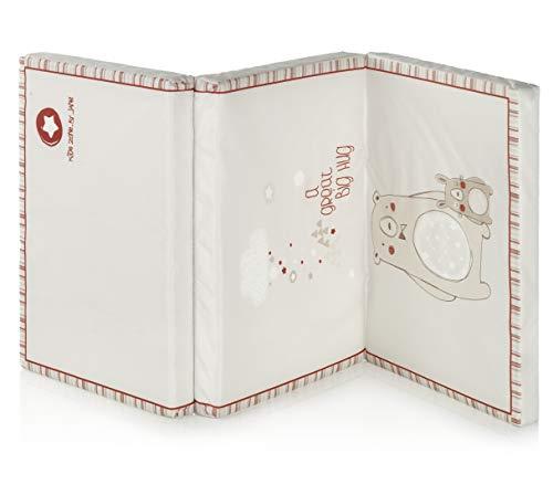 Jané 080255 S18 - Colchón Multifunción para Niños, Plegado Compacto, con Bolsa de Transporte, a partir de 0 Meses