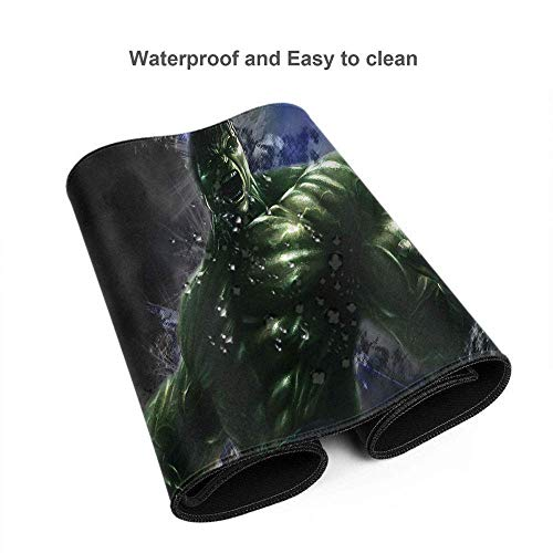 """Avengers Superhero Hulk Mouse Pad Mat Optimized for Gaming Sensors - Designed for Maximum Control Custom for Home and Office 15.7"""" x 35.4"""" inch Photo #2"""