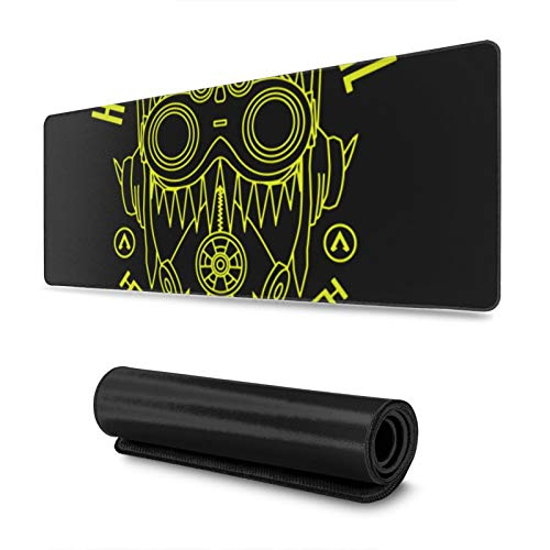 """Gaming Mouse Pad,Apex Legends - Octane Mask ,Long Extended Surface for Desktop Pc Computer Work Productivity Or Video Games,Laser Accuracy for Fast Responsiveness,11.8"""" X 31.5"""""""