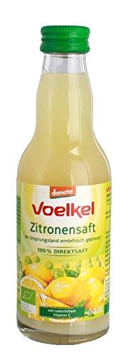 Voelkel Zitronensaft (0,2 l) - Bio