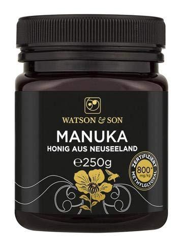 Watson & Son Manuka Honig MGO 800+ 250g | Premium Qualität aus Neuseeland