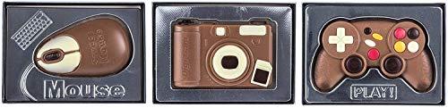 Weibler Confiserie - Schokoladen Maus, Controller und Kamera Set (60g, 70g, 70g)