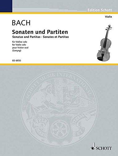 Sonaten und Partiten: Violine. (Edition Schott)