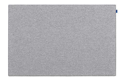 Legamaster 7-144510 Board-Up Akustik-Pinboard, schalldämpfende Pinnfläche, Textil, quiet grey, 100 x 75 cm