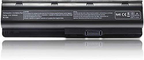 593553-001 593554-001 MU06 MU09 Extended Laptop Battery for HP Pavilion G6 G7 G62 G72 G4 / 2000 Notebook PC / DV6 DV7 DM4 / Compaq Presario CQ32 CQ42 CQ43 CQ56 CQ57 CQ62 CQ72[10.8V 5200mAh 6Cell]