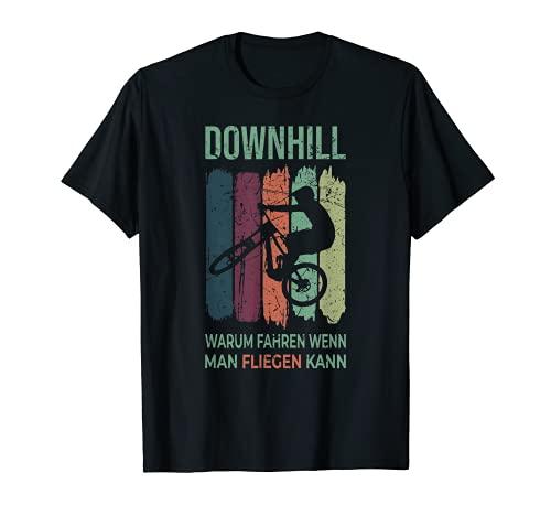 Cooler Spruch Downhill Trikot Mountainbike Fahren Bike T-Shirt