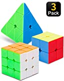 STEAM Life Educational Speed Cube Set 3 Pack Magic Cube   Includes Speed Cubes...