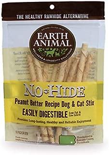 Earth Animal No Hide Peanut Butter Dog Chews