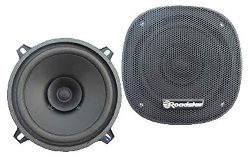 Roadstar PS-1315 Auto Lautsprecher 13 cm (50 Watt, 90 dB/W/m, 100 – 18000 Hz), schwarz, Black