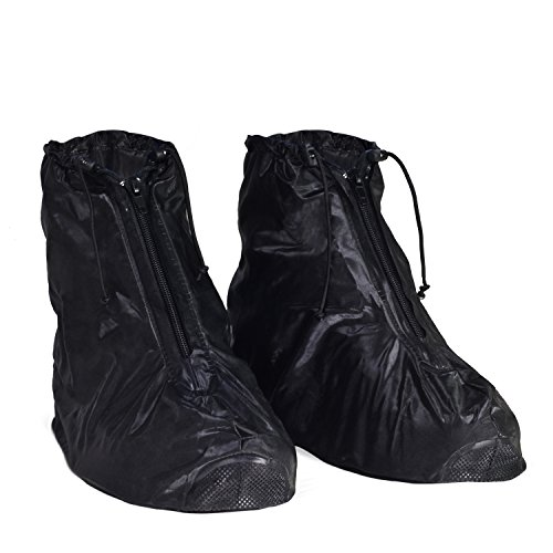KEESIN Copri scarti puliti lavabili Impermeabili scarpe antiappannamento scarponi Galossi per donne Uomo (43-44 EU)