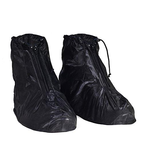 KEESIN Waschbare Saubere Schuhabdeckung wasserdichte Regenüberschuhe rutschfeste Regenstiefel Galoschen für Mann Frauen, 43/44 EU (Tag 2XL)
