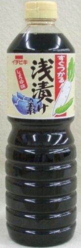 イチビキ 浅漬けの素しょうゆ味 1L×8本