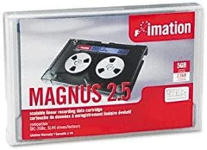 Imation MAGNUS 2.5 DC9250 SLR4 2.5GB/5.0GB Data Tape Cartridge 46168