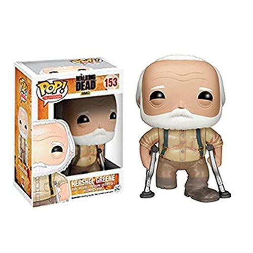 VBCGGGG The Walking Dead-Hershel Greene Pop Figure Form Televison Collection 10CM -A