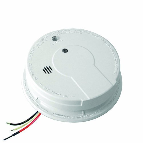 Kidde p12040 Hardwire With Battery Backup Photoelectric Smoke Alarm-2 Pack Size: 2 Pack Color: White Model: