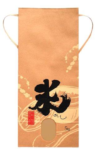 マルタカ クラフト 米(めし)(銘柄なし) 5kg用紐付 20枚セット KH-0260