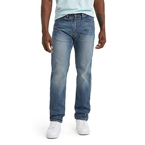 Levi's Herren 505 Regular Fit Jeans, Afrobeat/Stretch, 42W x 32L