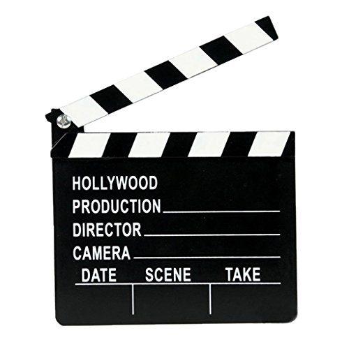 Hollywood Madera Tablero De Directores De Cine Badajo