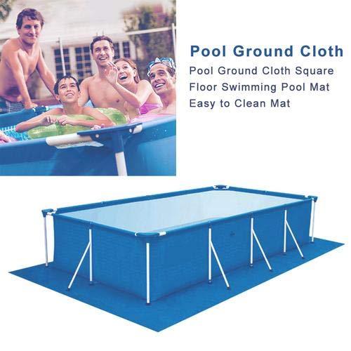 Beaviety Swimmingpoolkissen-Poolschutzmatte Rechteckige Poolmatte Für Den Oberirdischen Swimmingpool