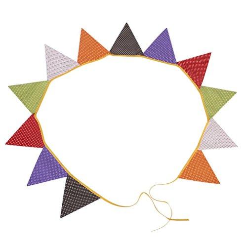 LUOEM Wimpel Banner Dreieck Fahne Wimpel für Party Home Dekoration gepunktete Musterdesign