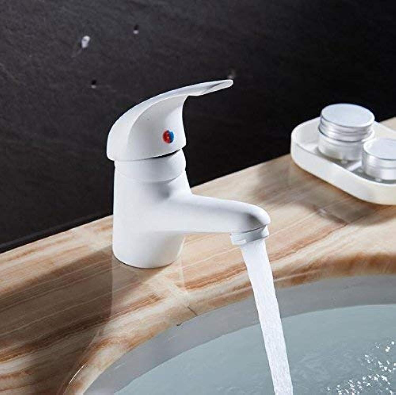 Oudan White Kitchen Faucet Classic Style Basin Faucet W3012 (color   -, Size   -)
