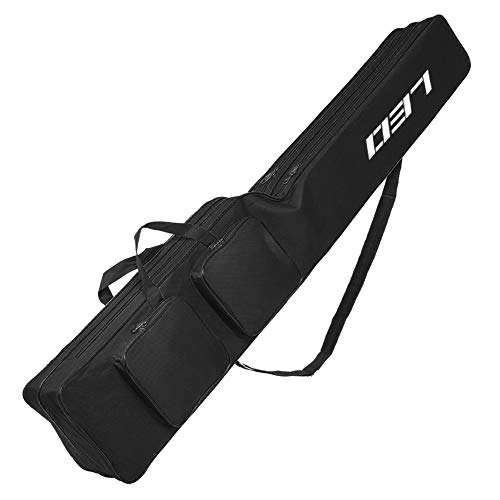 Lixada 釣り用ロッドケース 釣り用バッグ フィッシングバッグ 二層ナイフ型鍋腹釣りタックルバッグ 130cm