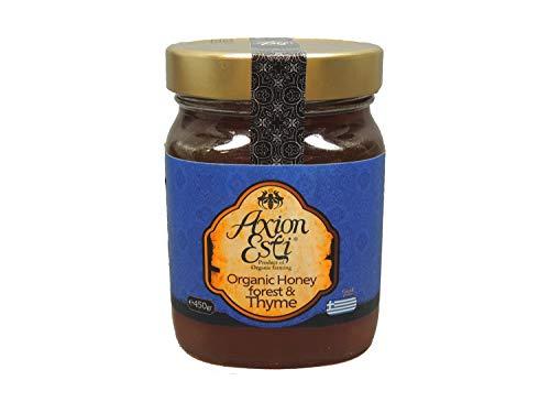 griechischer delikatess Bio Blüten- und Waldhonig mit Thymian 450g | Thymianhonig