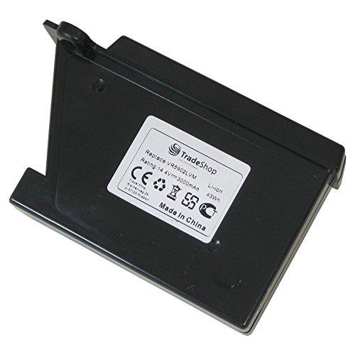Trade-Shop Premium Li-Ion Akku 14,4V / 3000mAh / 43Wh für LG Hom-Bot VR62601LV VR62601LVM VR6260LV VR6260LVM VR62701LV VR62701LVB VR62701LVM VR62701LVMB VR6270LVB VR6270LVM VR6270LVMB VR6340LV