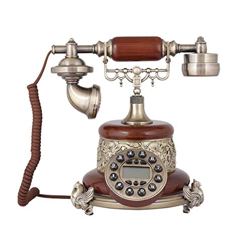 Telefono retro Tipo de botón de Metal de Resina Europeo jardín Moda Asiento Creativo Oficina en casa 250mm * 250mm * 255mm MUMUJIN