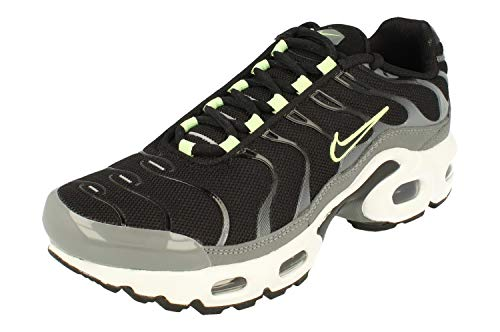 Nike Zapatillas Air Max Plus GS Cd0609 para correr, negro (Black Smoke Grey 006), 37.5 EU