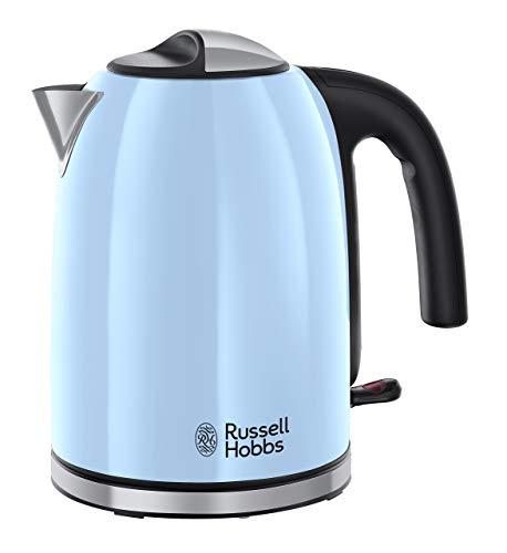 Russell Hobbs Colours Plus - Hervidor de Agua Eléctrico (2400 W, 1,7l,...