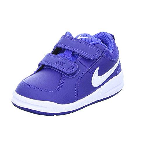 Nike Kinder Sneaker Pico 4 Jungen Sportschuh Klettverschluss Blau, Größe 21